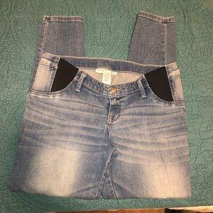 Maternity legging jeans